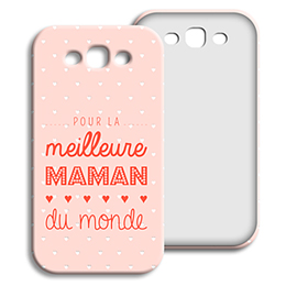 Coque Samsung Galaxy S3 - Photos maman - 0