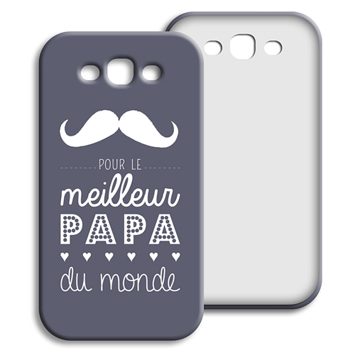 Coque Samsung Galaxy S3 - Message Papa 42869