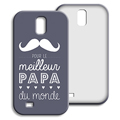 Coque Samsung Galaxy S4 - Message Papa 42870 thumb
