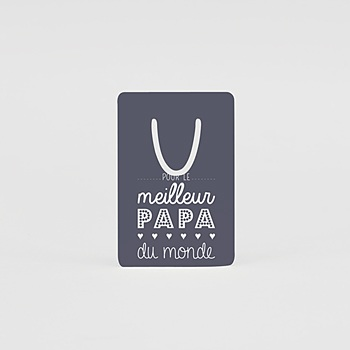 Marque-page - Message Papa - 0