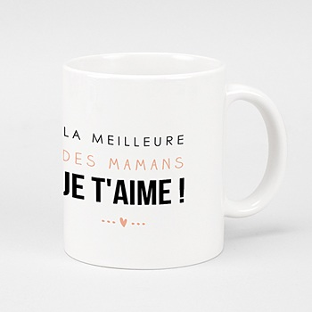 Mug Personnalisé - La meilleure maman - 0