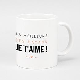 Mug Personnalisé Fête des Mères - La meilleure maman - 0