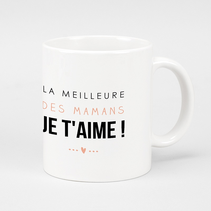 Mug Personnalisé Photo La meilleure maman