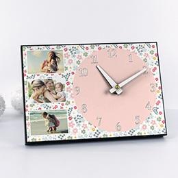 Horloge personnalisée Fête printanière