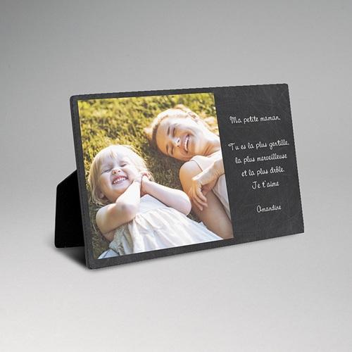 Cadre photo en bois - Ardoise festive 42930