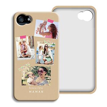Coque Iphone 4/4s personnalisé - Photos Love - 0