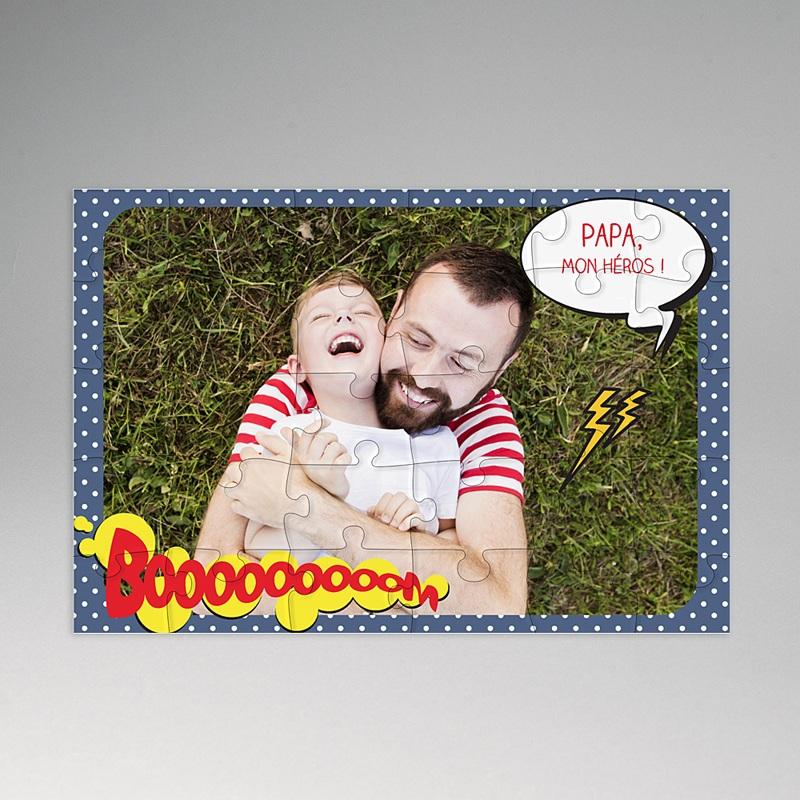 Puzzle Personnalisé Photo Puzzle Papa