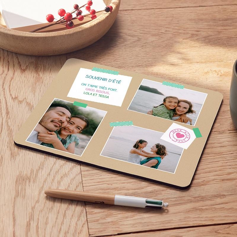 Tapis de souris personnalisé Photorama