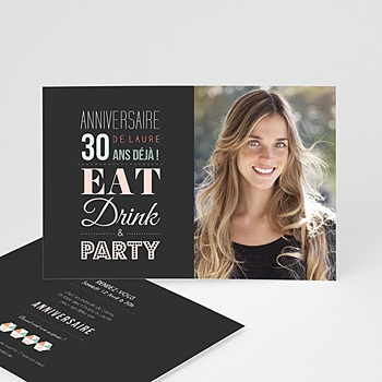Invitation Anniversaire Adulte - 30 ans Party - 0