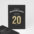 Anniversaire  - 20 ans dorés - 4473