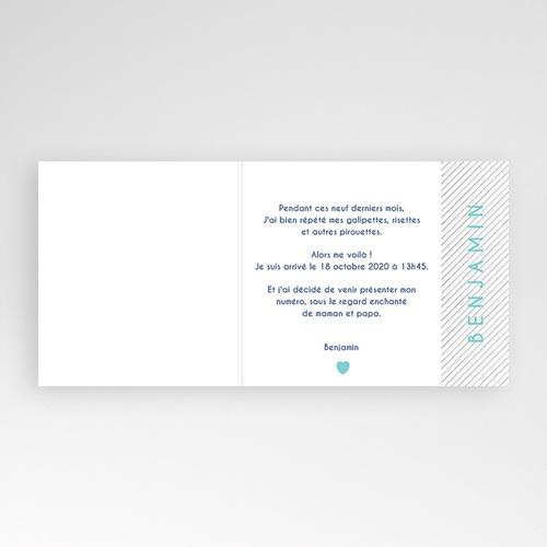 Faire-Part Naissance Garçon - Colis Express 43248 thumb