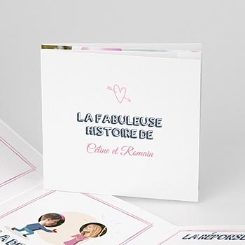 Faire-Part Mariage Personnalisés - BD amour - 0