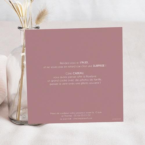 Invitation Anniversaire Adulte - 90 ans ardoise 43298 preview
