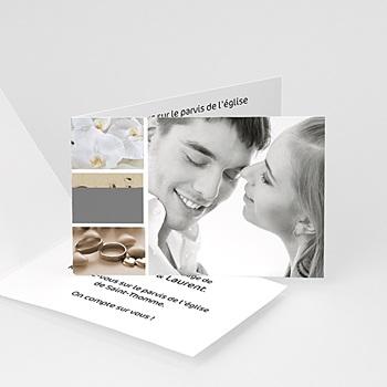 Faire-Part Mariage Personnalisés - Mes 4 photos - 3