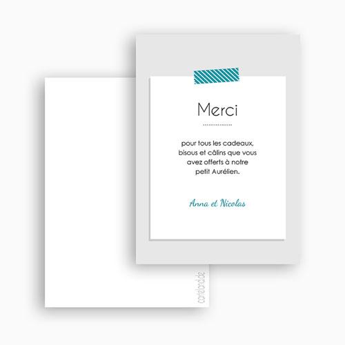 Carte remerciement naissance A compléter gratuit