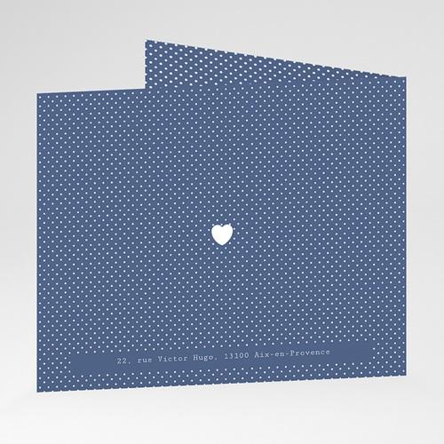 Faire-Part Naissance Garçon - Bleu intemporel 43421 thumb