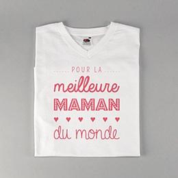 T-Shirt Fête des mères Meilleure Maman