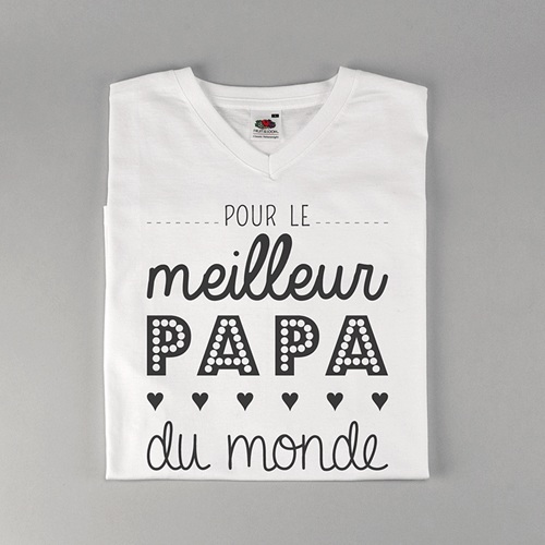 Tee-shirt homme Papa, the best
