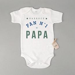Body Fête des pères Fan de papa