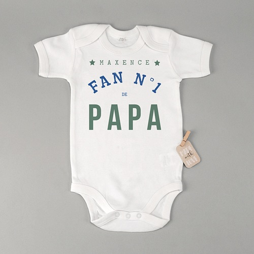 Body bébé Fan de papa