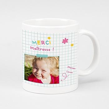 Mug Merci maîtresse personnalisable