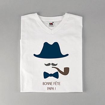 Tee-shirt homme Chapeau papa !!