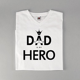 Tee-Shirt Personnalisé Photo - Superdad - 0