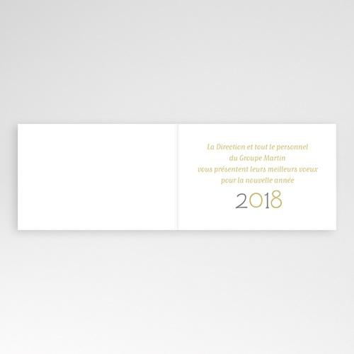 Cartes de Voeux Professionnels - Façades décorées - gris 4351 preview