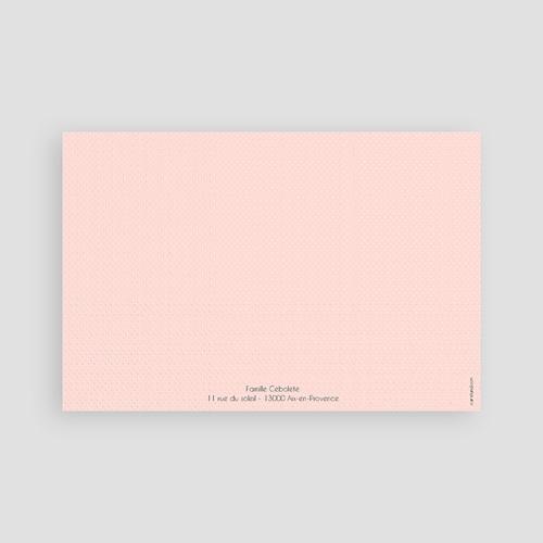 Remerciements Naissance Fille - Hello en multicolor 43557 thumb