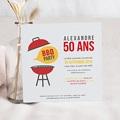 Carte Invitation Anniversaire Adulte Barbecue Party