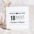 Save The Date Mariage Antidater