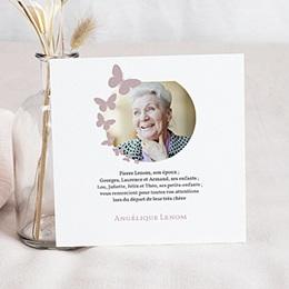 Remerciements Décès Universel - Papillons de lumière - 0