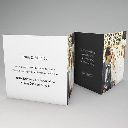 Remerciements Mariage Personnalisés Mr & Mrs gratuit
