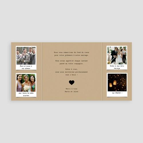 Remerciement mariage original - Notre histoire 43861 preview