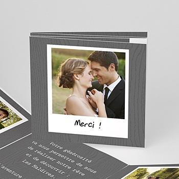 Acheter remerciements mariage personnalisés roman photo