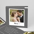 Carte remerciement mariage - Roman Photo - 4330