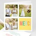 Carte remerciement mariage - Bonnes Mines - 4255