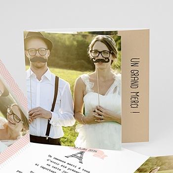 Remerciements Mariage Personnalisés - Love in Paris - 0