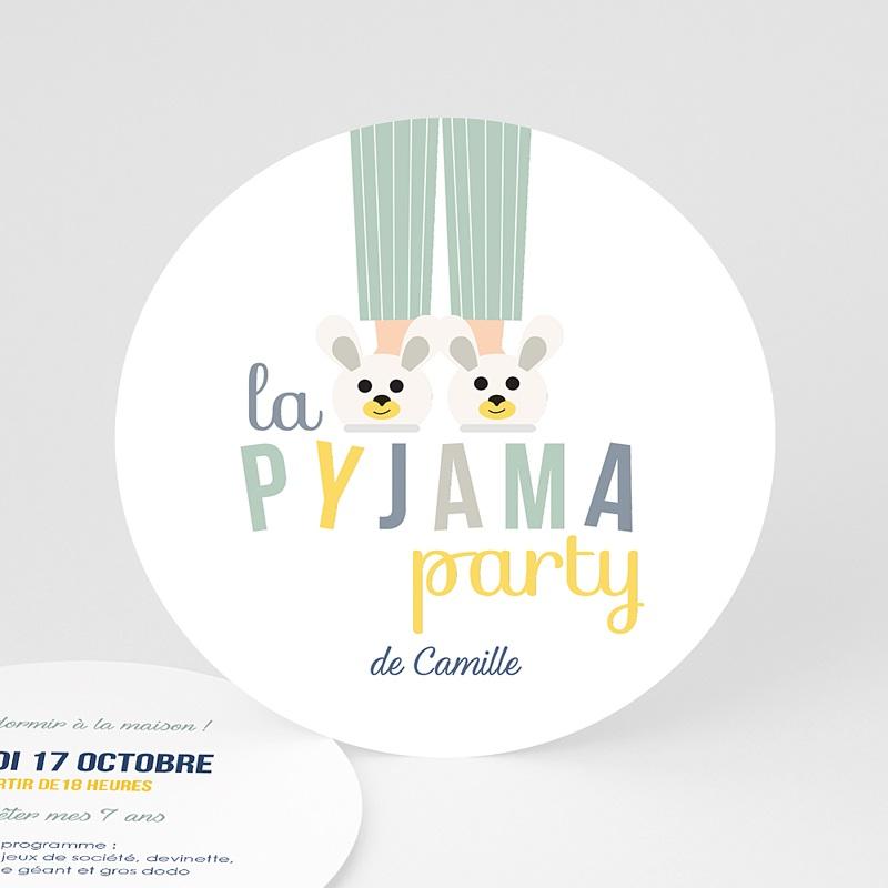 Invitation Anniversaire Garçon - Pyjama Party 44262 thumb