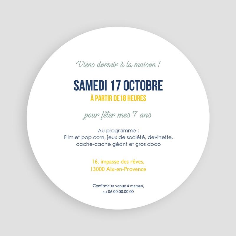 Invitation Anniversaire Garçon - Pyjama Party 44263 thumb