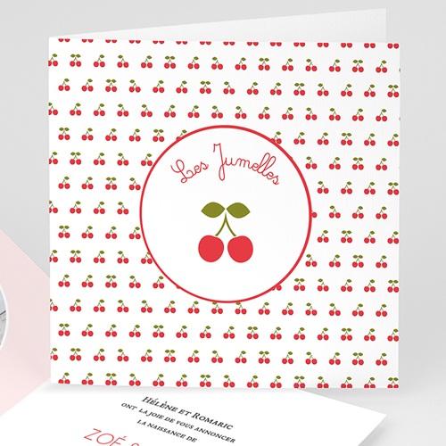 Faire-Part Naissance Jumeaux - Les Jumelles 44291 thumb
