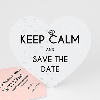 Save-The-Date - Mariage Soon - 0