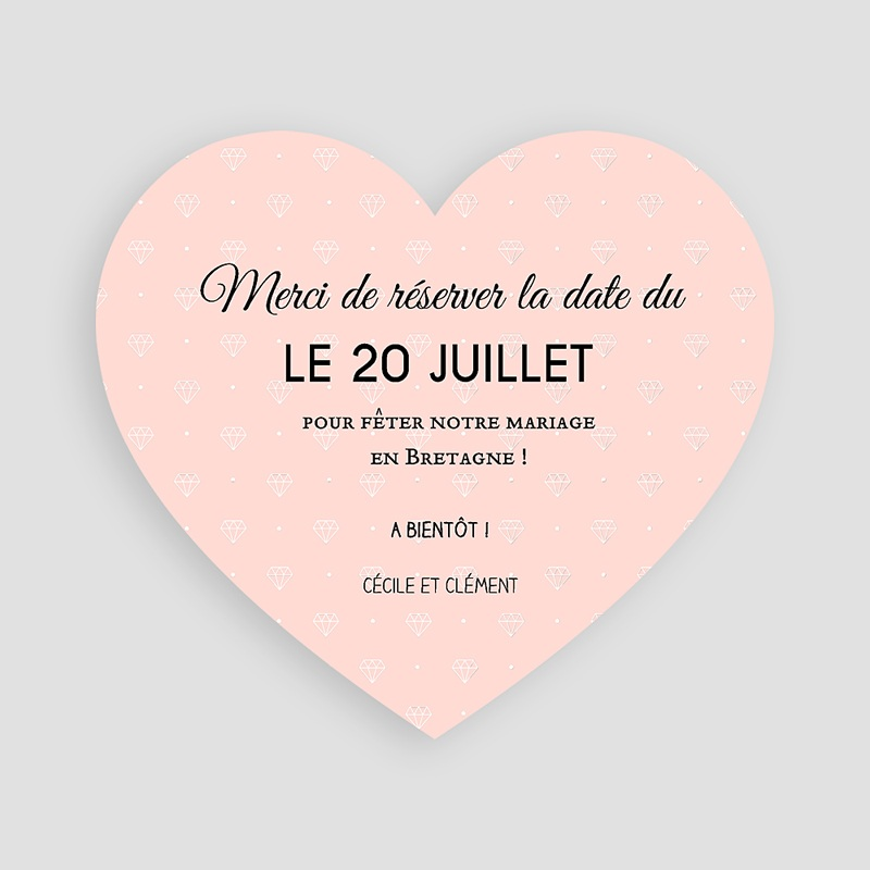 Save the date mariage Mariage Soon pas cher
