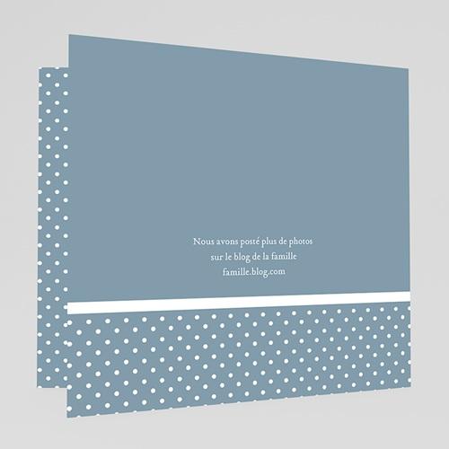 Faire-Part Naissance Garçon - Noeud Chic Bleu 44387 preview