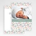 Faire-Part Naissance Fille - Liberty Baby 44409 thumb