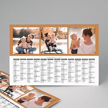 Calendrier Monopage Couleur de Noë 5 photos