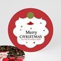 Carte Noël Merry Christmas Barbe du Père Noel