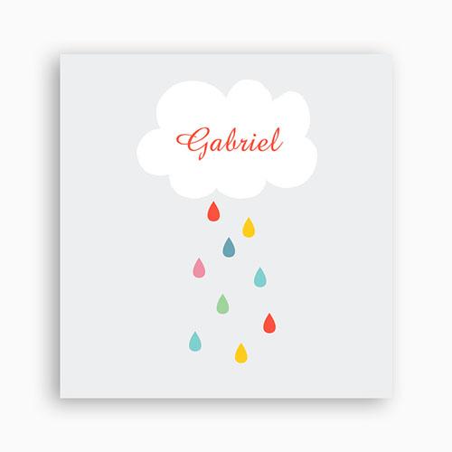 Faire-part Baptême Garçon - Goutte d'eau 44734