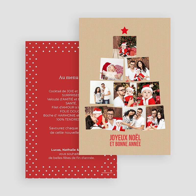 Carte Noël Sapin de Photos gratuit