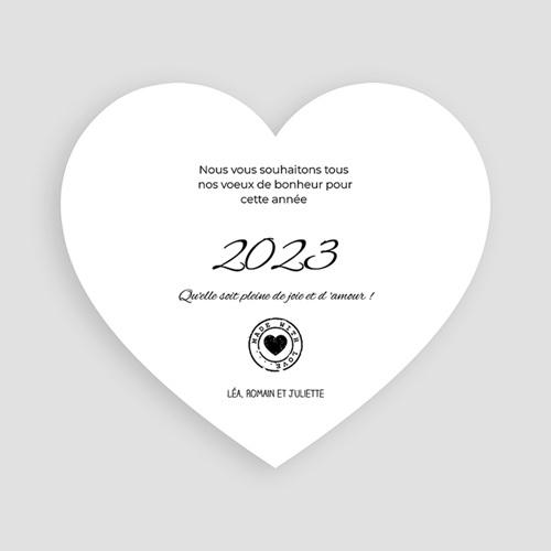Carte de Voeux 2019 - Les voeux du Coeur 44754 thumb